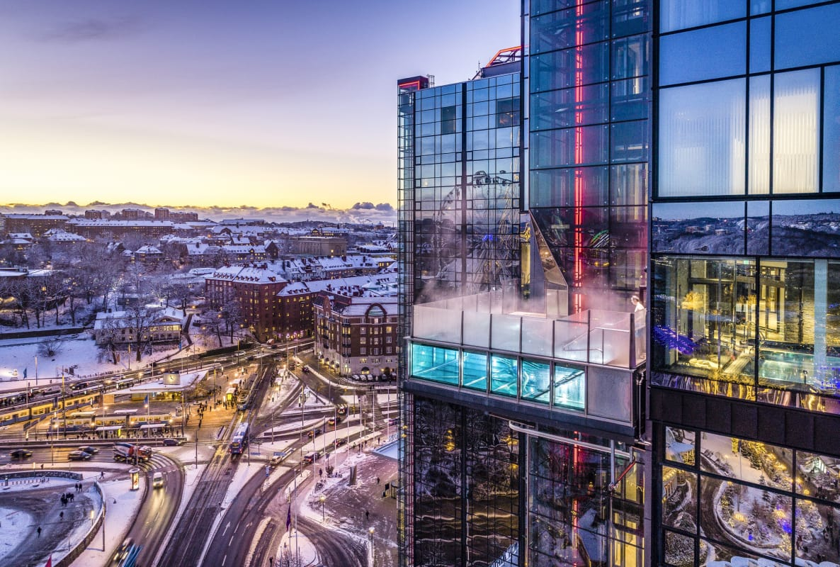 Upper House y Gothia Towers hotel en Gotemburgo