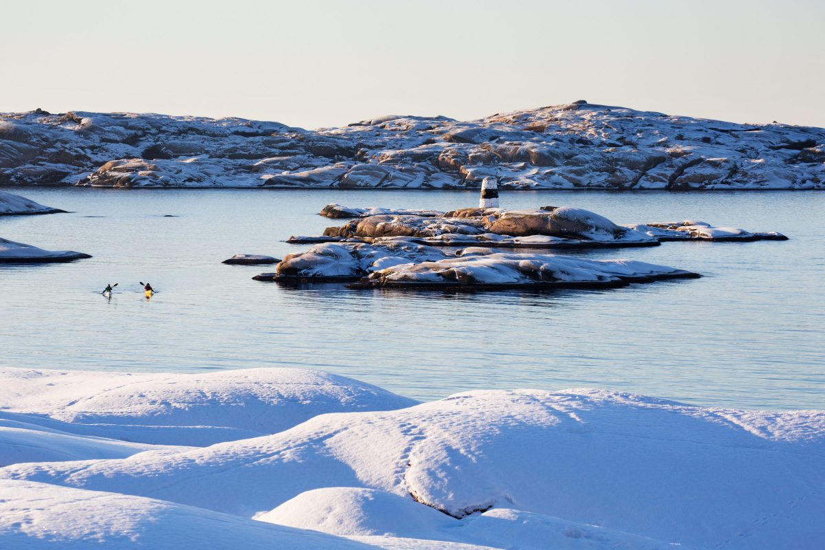 Paisaje de la costa oeste de Suecia en invierno <br> Foto: Roger Borgelid
