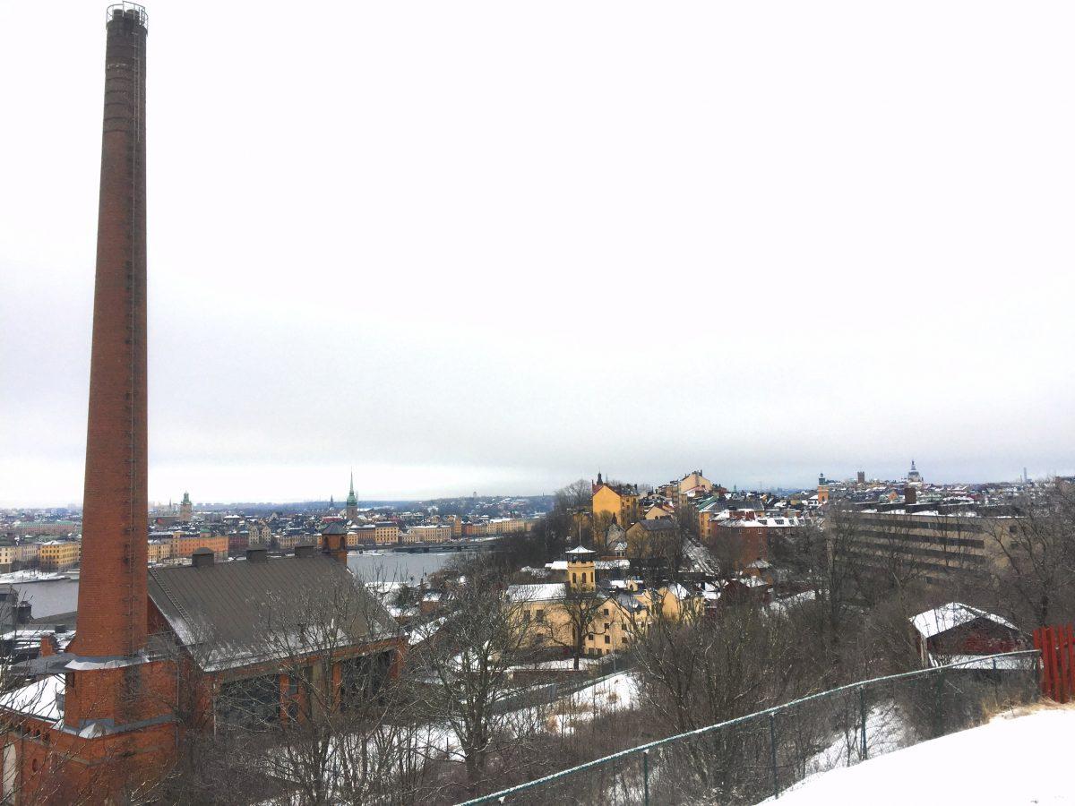 Vista desde Skinnarviksberget en Estocolmo - Foto: Israel Úbeda / sweetsweden.com