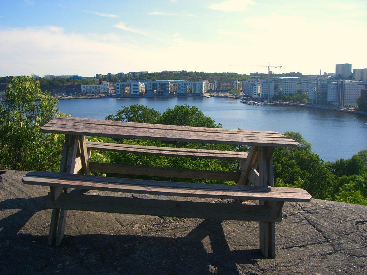 Vista hacia Årsta desde Tantolunden Estocolmo <br> Foto: Israel Úbeda / sweetsweden.com