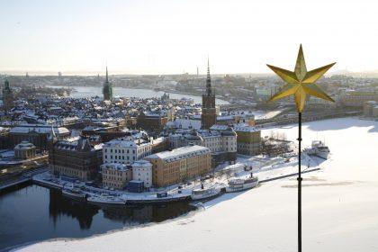 Vistas desde la torre del ayuntamiento de Estocolmo Foto: Yanan Li