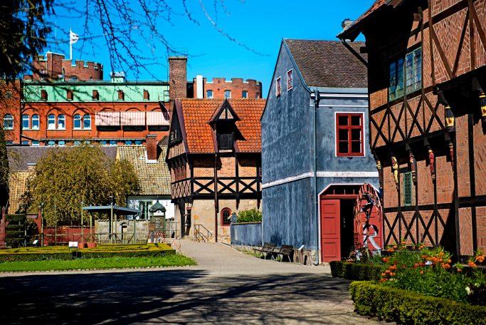 Edificios historicos en Lund, Suecia - Foto: Aline Lessner / imagebank.sweden.se