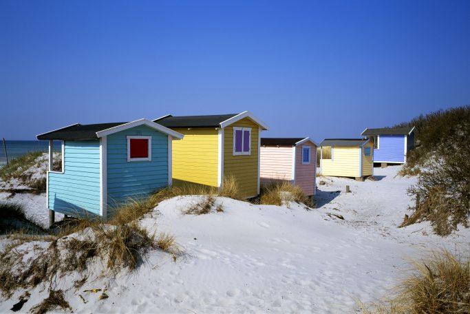 Cabañas de playa en Skanör - Foto: Birger Lallo