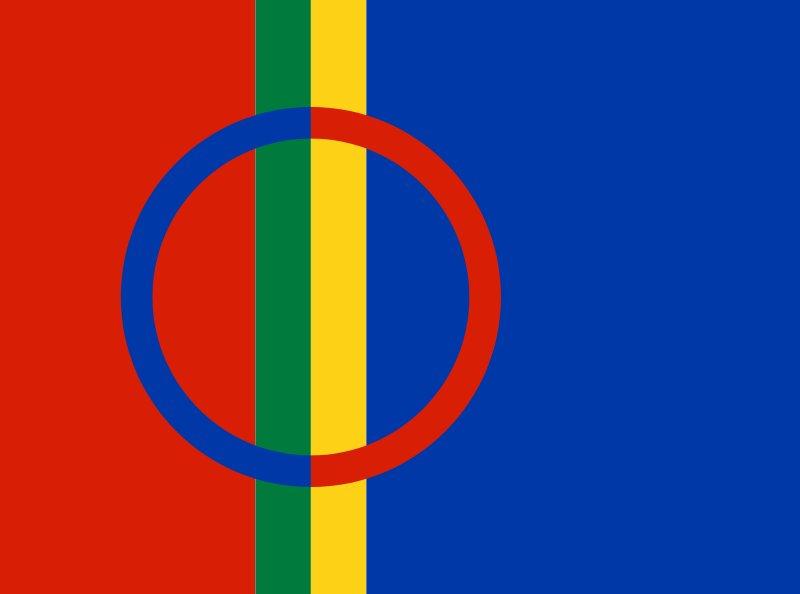 Bandera sami <br> Foto: (cc) Christopher Foster / flickr.com