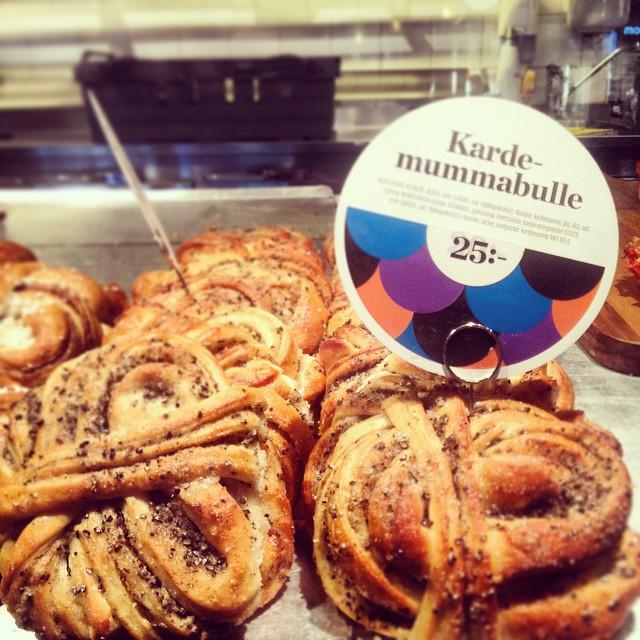 Bollitos de cardamomo en Bröd &amp; Salt <br> Estocolmo, Foto: Israel Úbeda / sweetsweden.com