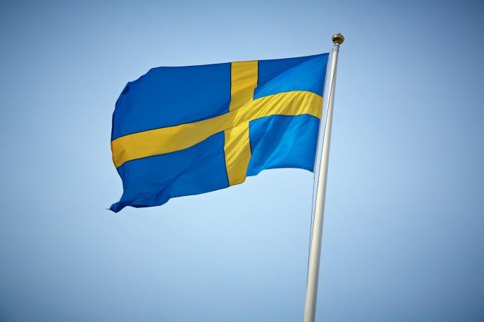 Bandera de Suecia <br> Foto: Carolina Romare / imagebank.sweden.se