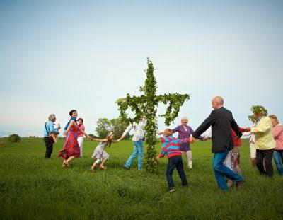 Celebrate Midsommar in Stockholm, Gothenburg, Dalarna or Lapland