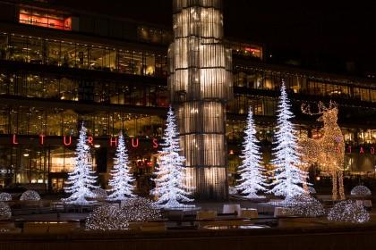 Kulturhuset en Estocolmo en Navidad una de las atracciones más visitadas - Foto: Cecilia Larsson Lantz / imagebank.sweden.se