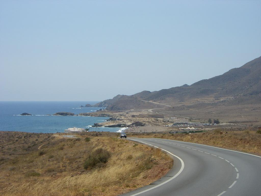 Paisaje del Cabo de Gata en Almería, España - Foto: Israel Úbeda / sweetsweden.com
