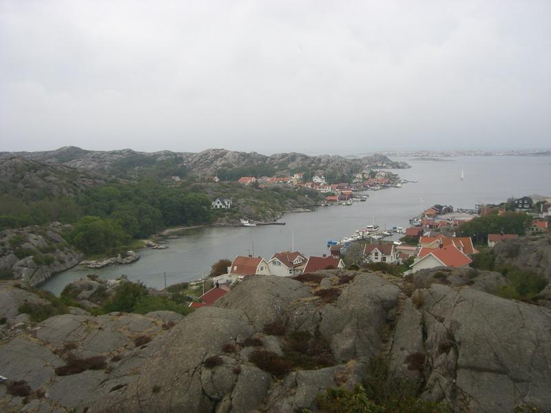 Västkusten (costa occidental) cerca de Rönnäng