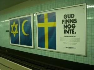 Probablemente Dios no existe en Suecia tampoco