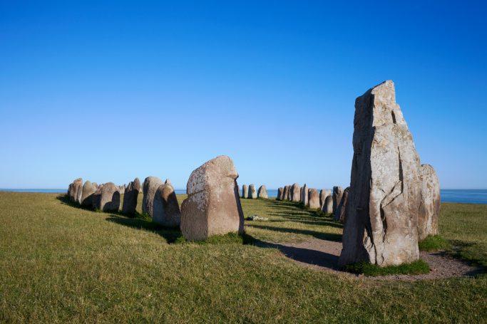 Las piedras de Ale en Escania, Suecia - Foto: Conny Fridh/imagebank.sweden.se