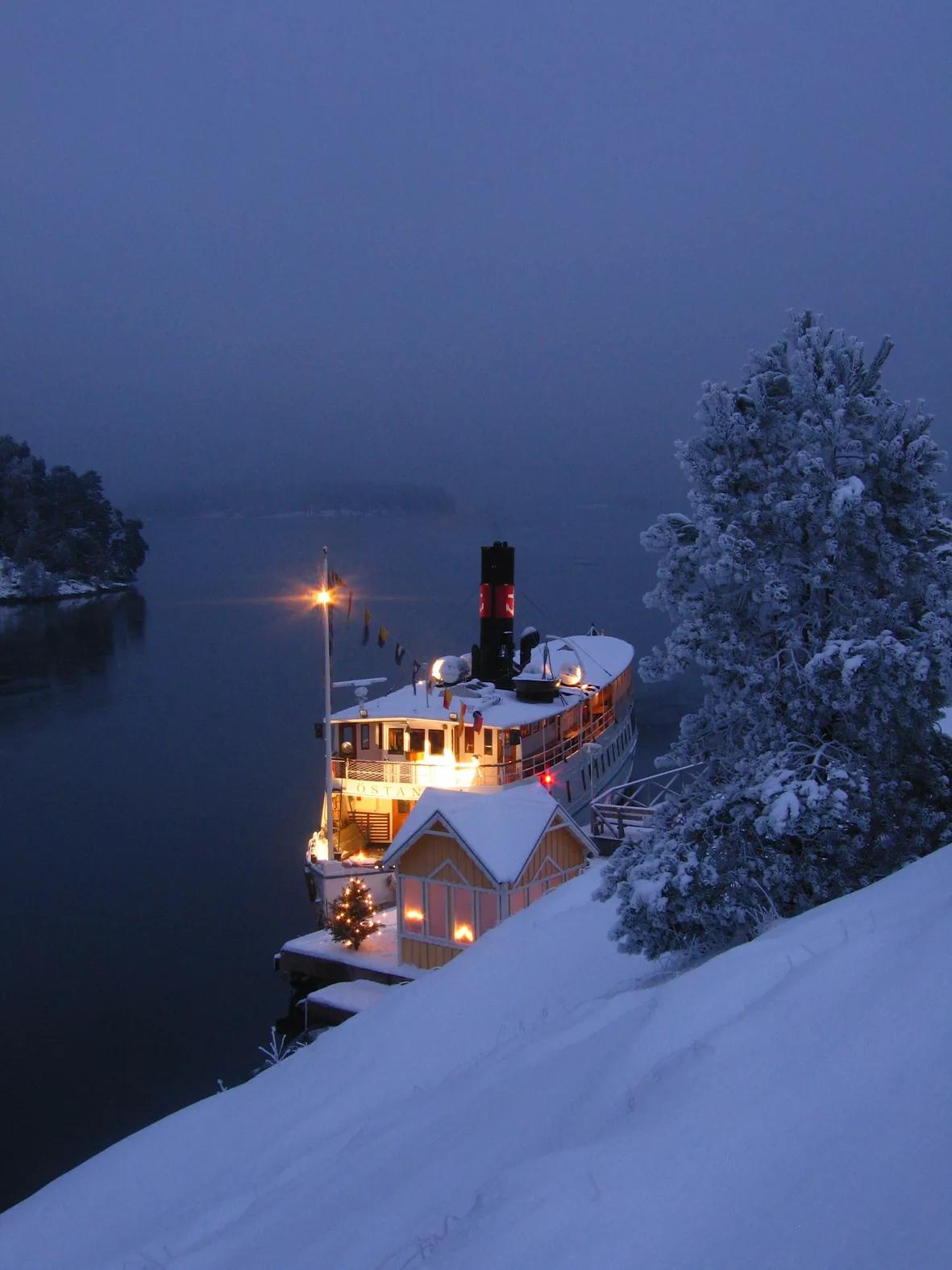Crucero de Navidad por Estocolmo con desgustación de bufé julbord <br> Foto: Magnus Rietz