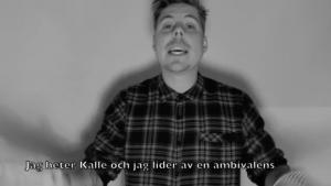 Kalle rapea su CV en vídeo