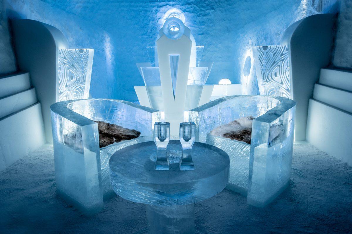 Once Upon a Time - Suite Deluxe del ICEHOTEL 365 <br> Foto Asaf Kliger