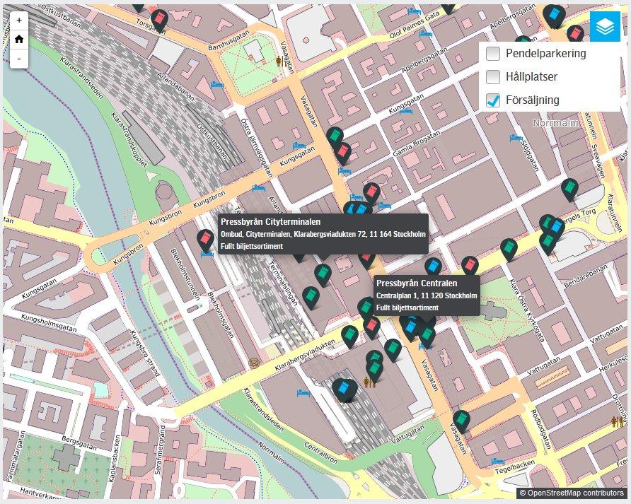 Donde comprar tarjeta transporte público en Estocolmo