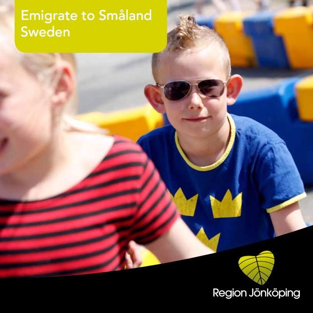 Emigra a Småland en Suecia