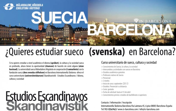 Curso gratuito de Estudios Escandinavos en Barcelona