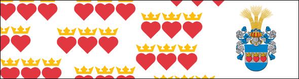 Escudo de armas de Halmstad <br> Montaje de Jonas Andersson / destinationhalmstad.se