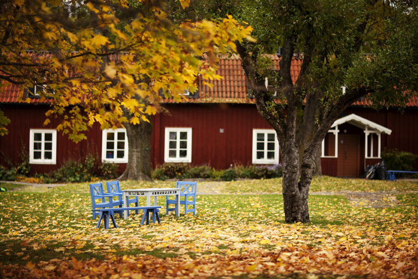 Sigtuna's Museum in the fall <br /> Photo: Destination Sigtuna