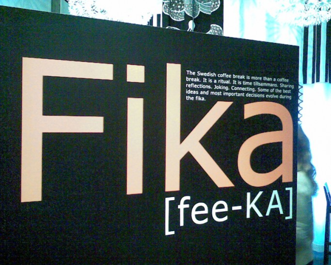 Fika, foto: Swedishfig