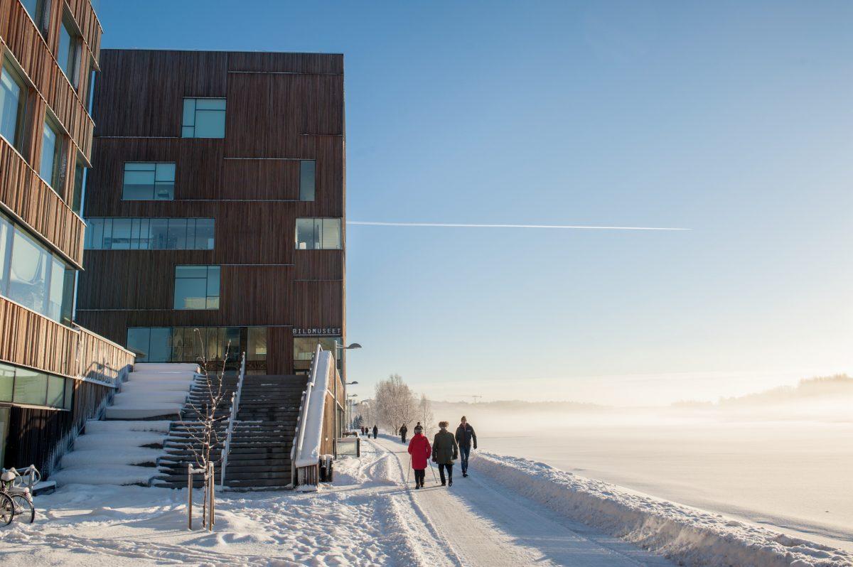 Bildmuseet el museo de la imagen de Umeå <br> Foto: Guillaume de Basly / imagebank.sweden.se