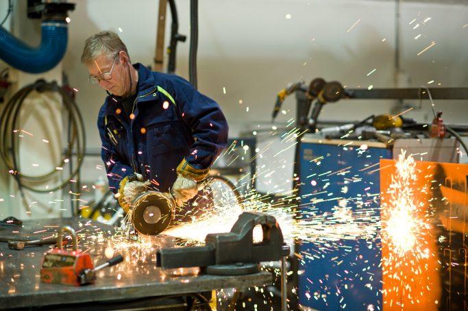 Industria en Suecia - Foto: Guillaume de Basly / imagebank.sweden.se