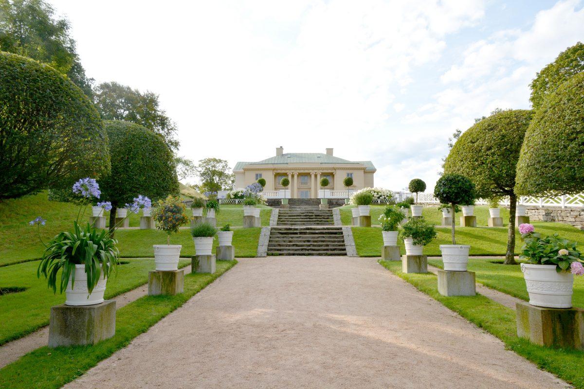El castillo y los jardines de Gunnebo al sur de Gotemburgo <br> Foto: Gunnebo Slott & Trädgårdar