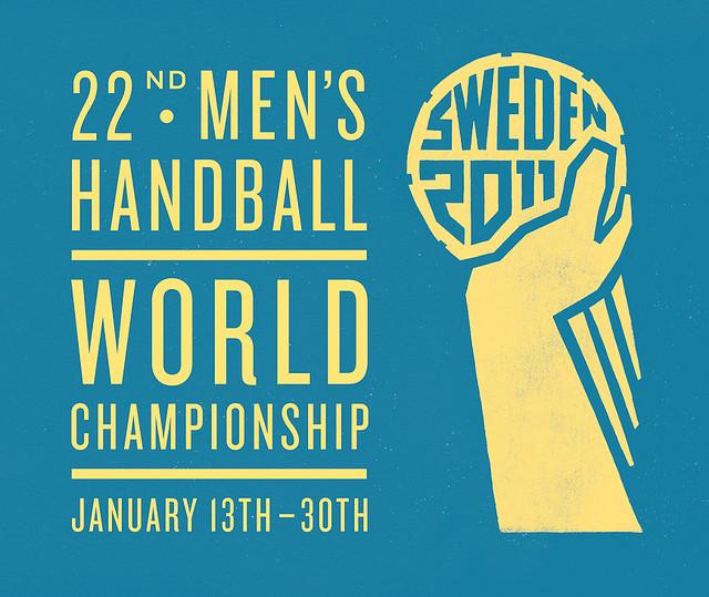 Logo del Mundial de Balonmano 2011 en Suecia