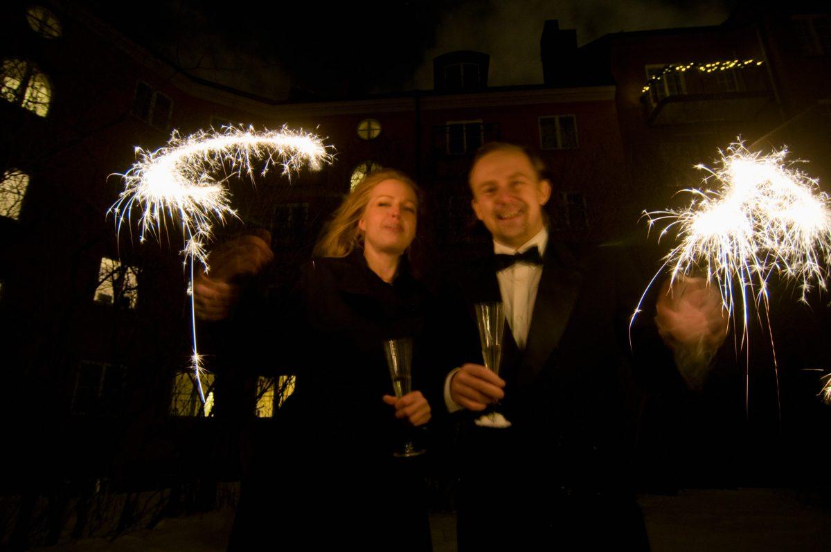 Celebraciones de año nuevo en Estocolmo <br> Foto: Helena Wahlman / imagebank.sweden.se