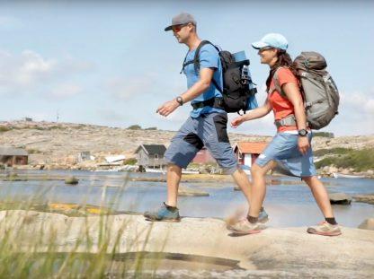 Video über das Wandern an der schwedischen Westküste