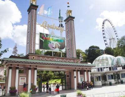 Visita el parque de atracciones de Liseberg en Gotemburgo