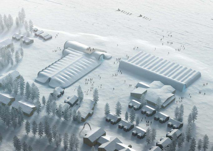 El hotel de hielo de Suecia IceHotel 365 en invierno