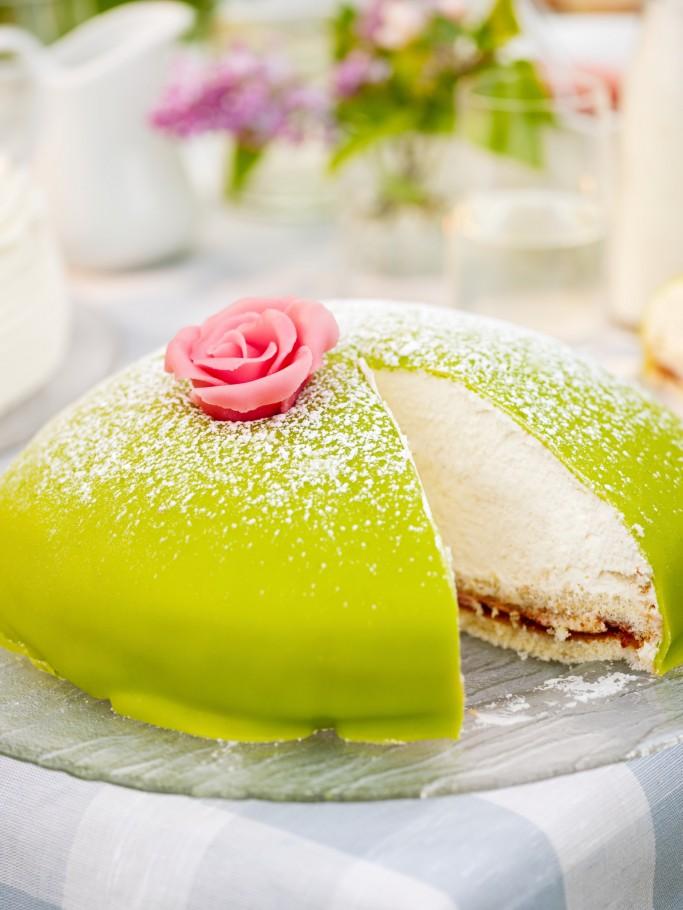 Tarta princessa sueca - Foto: Jakob Fridholm / imagebank.sweden.se