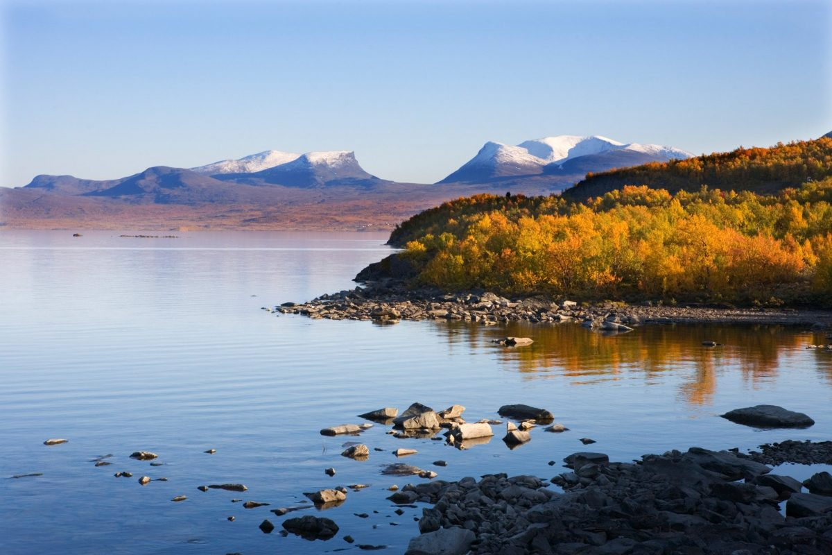 Parque Nacional de Abisko en Laponia sueca Foto Katja Kristoferson / imagebank.sweden.se