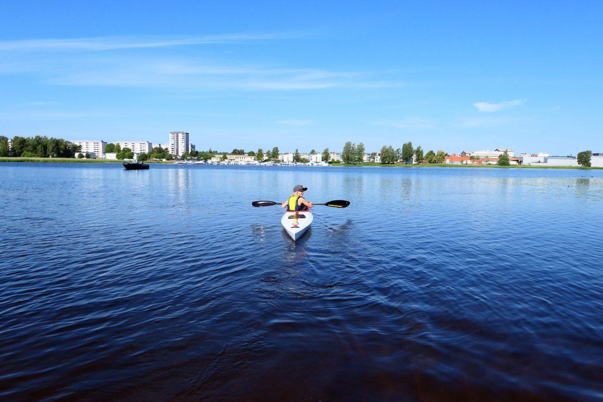 Kayak en karlstad <br> Foto: karlstad.se