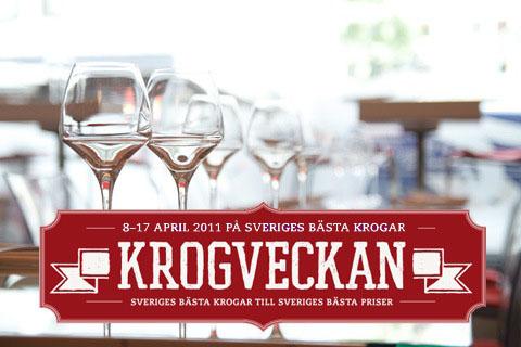 Cartel de la Krogveckan de primavera de 2011