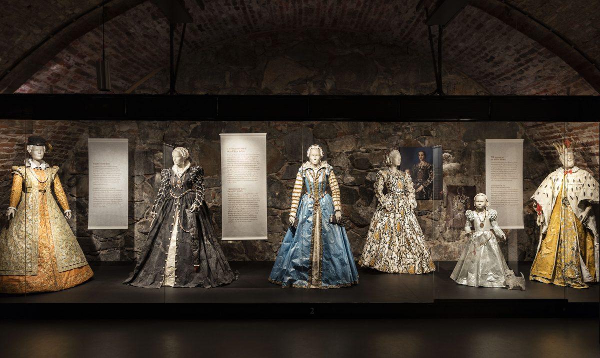 Trajes de época en el Museo de la Armería Real de Estocolmo <br> Foto: Jens Mohr