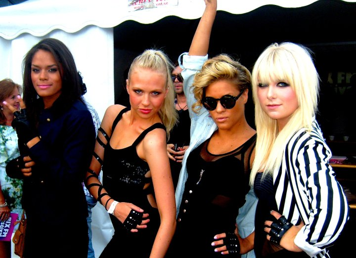 La cuatro suecas de Love Generation, foto: lovegeneration.se