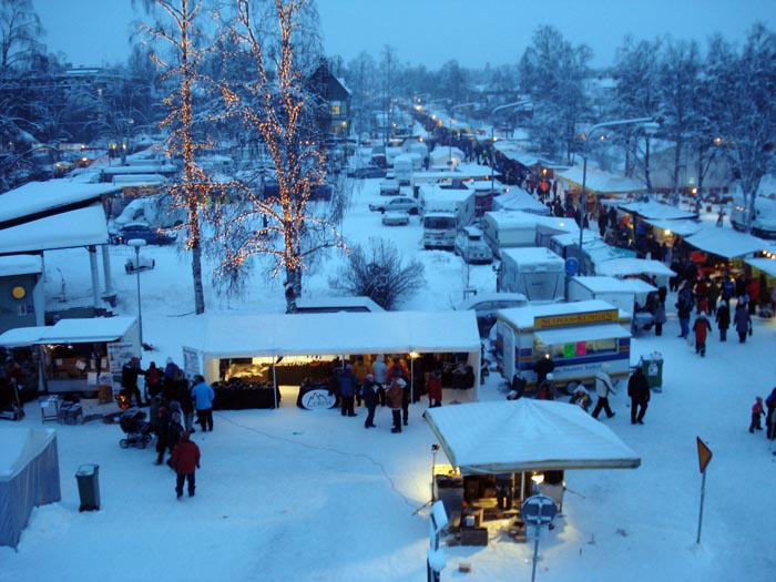 Mercado de invierno de Jokkmokk <br>Foto: hellotravel.com