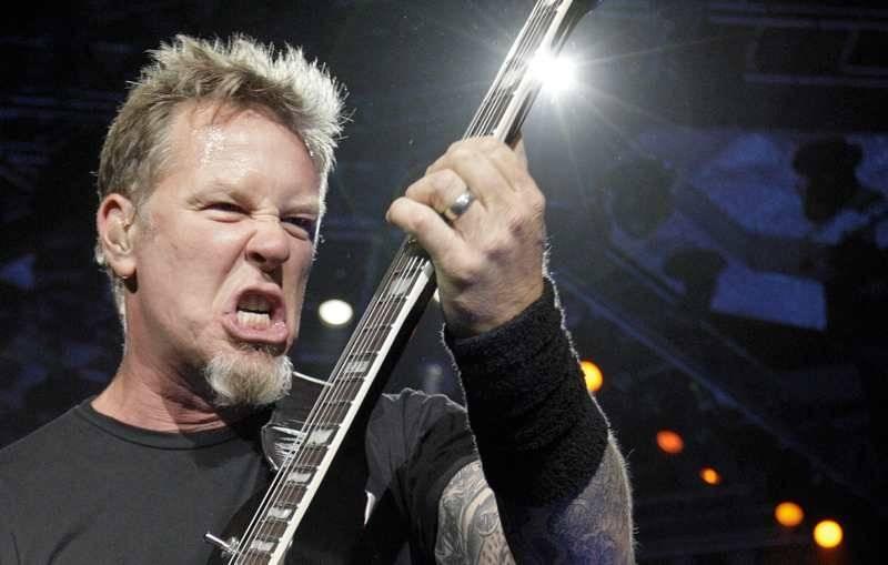 Metallica en Gotemburgo en verano, foto: Mindagaus Kulbis / gp.se