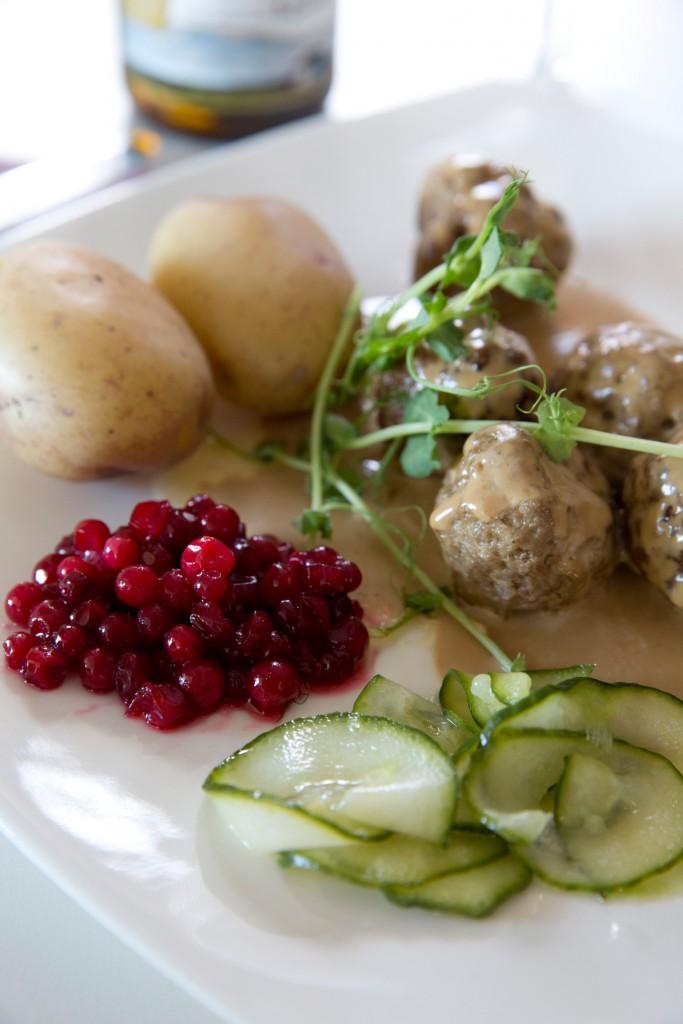 Köttbullar suecas - Foto: Miriam Preis / imagebank.sweden.se