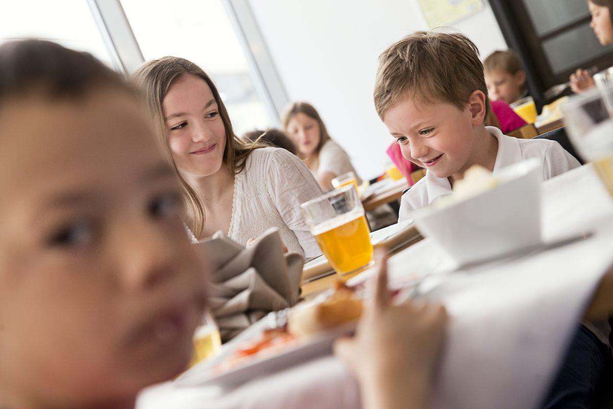 Niños desayunando en el hotel C Stockholm <br> Foto: Paulina Holmberg