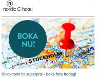 Oferta Nordic C Hotel en Estocolmo