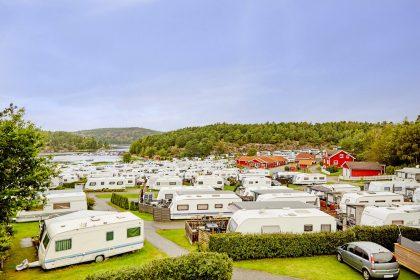 Zona de Norrviken en el campig Daftö Resort en Suecia
