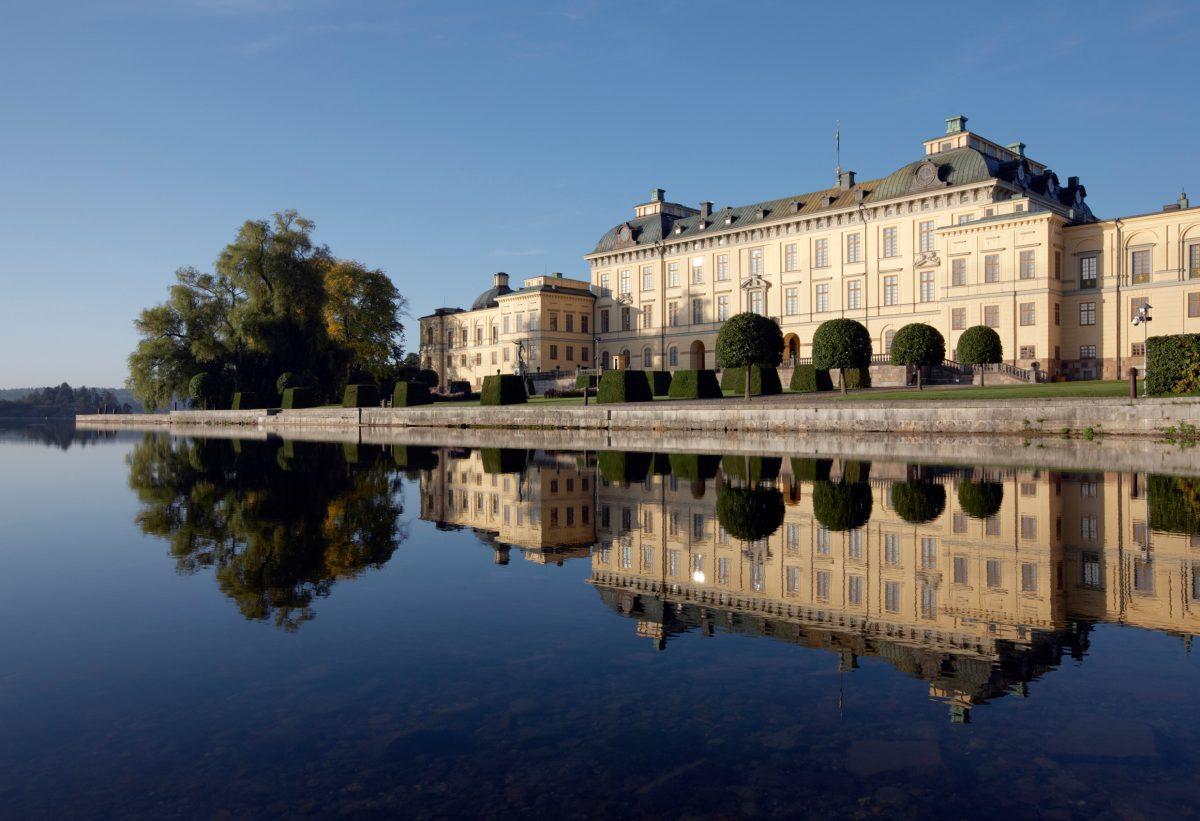 El Palacio de Drottningholm Foto: Ola Ericsson / imagebank.sweden.se