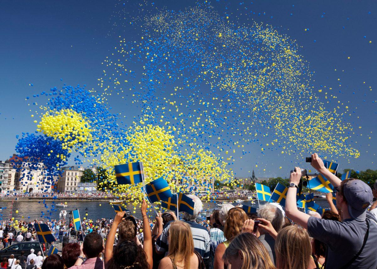 6 de junio - día nacional de Suecia <br> Foto: Ola Ericson / imagebank.sweden.se