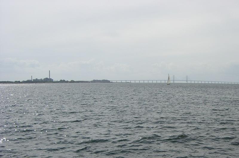 Puente de Öresund desde Västra Hamnen