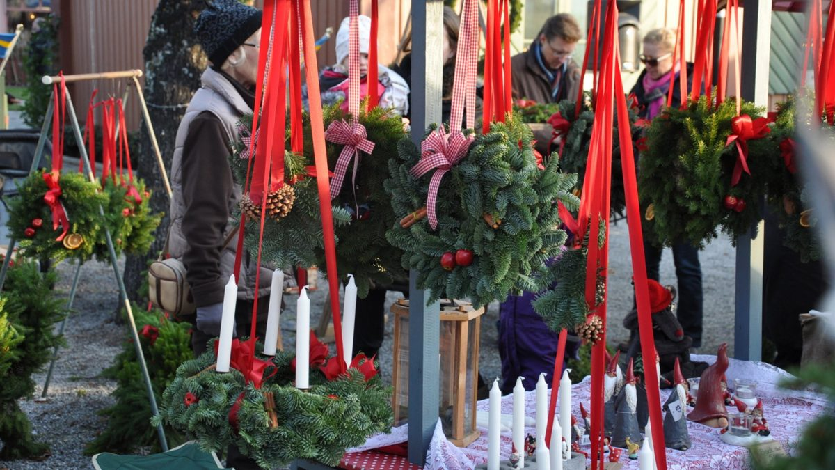 Parada del mercado navidad de Sigtuna <br> Foto: destinationsigtuna.se