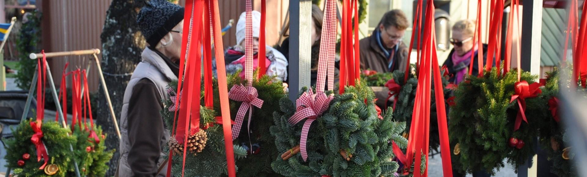 Mercats de Nadal a Sigtuna el 2019